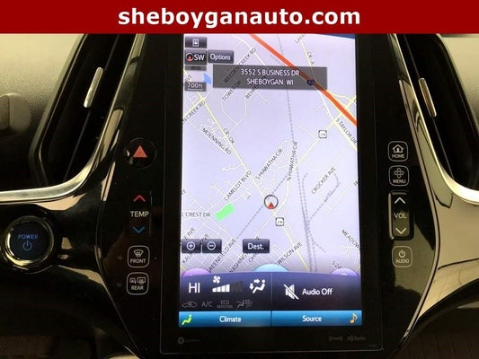 2017 toyota prius navigation system