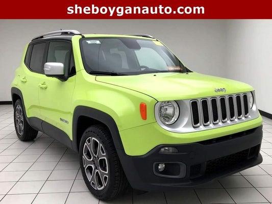 Jeep Renegade Limited >> 2018 Jeep Renegade Limited